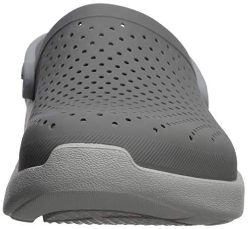 White Literide 2 Crocs Clog 1 Eu Smokepearl 37 0nP8wkO