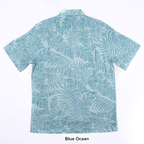 Xxl e Blue ciliegia Campia bottoni button Ocean foglia Grande in Men down con alta Camicia color TlKc13FJ