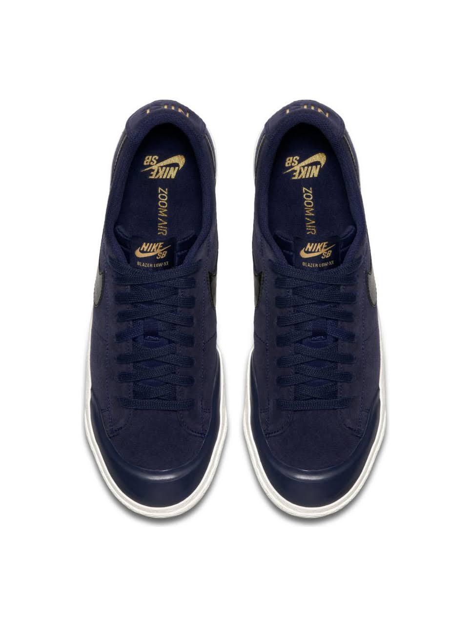 Blazer Sb Binario Zoom Low Nike Xt Azul Negro 4BRSqBdn