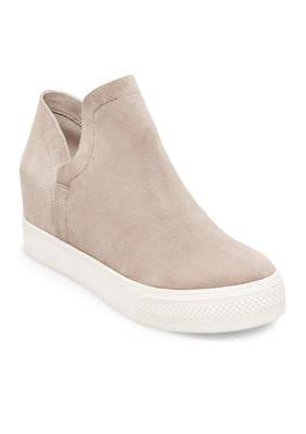 zeppa Sneaker 11m con Sued Wrangle donna da Steve Wedge MaddenTaupe nwkX0PO8N