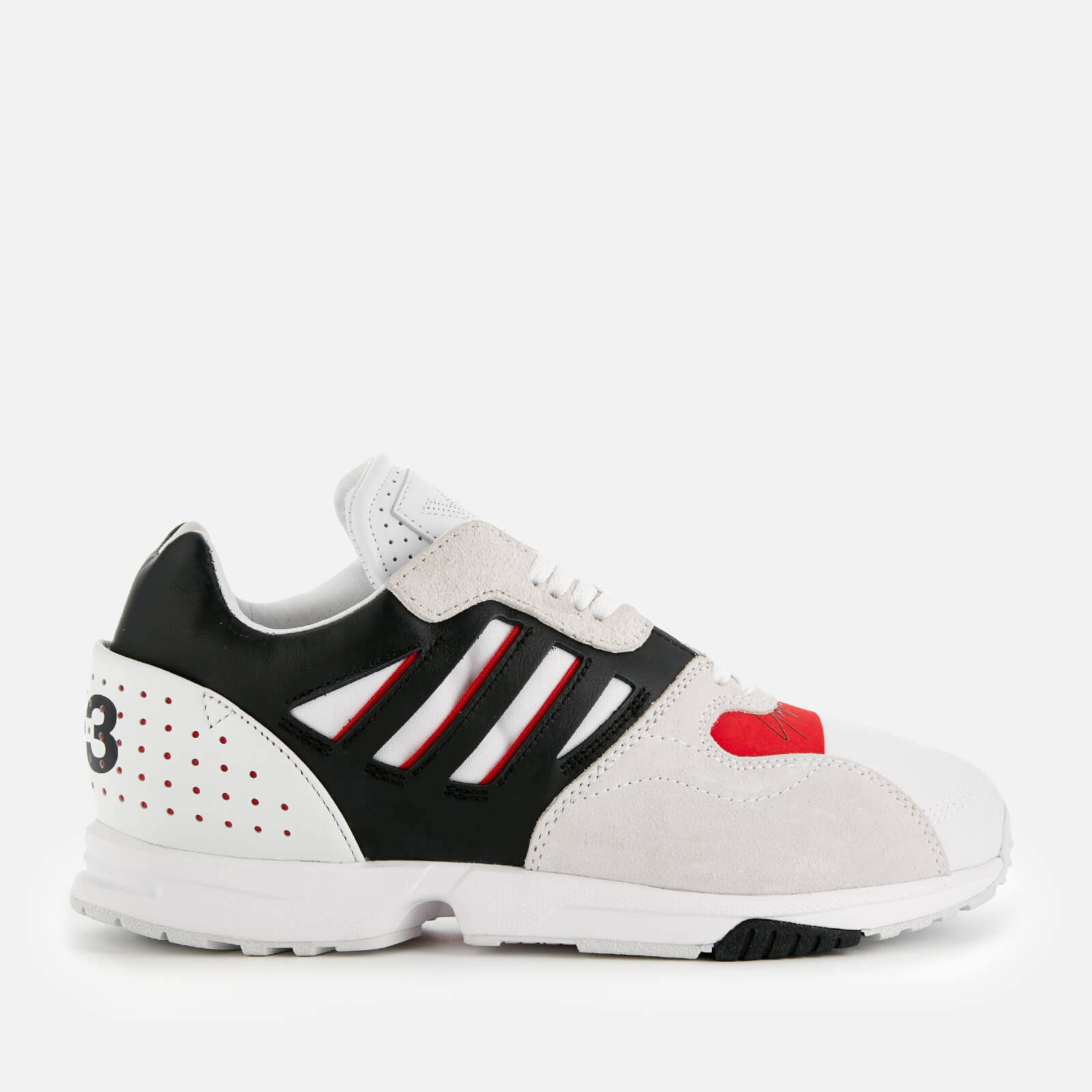 Y-3 ZX Run White Trainers