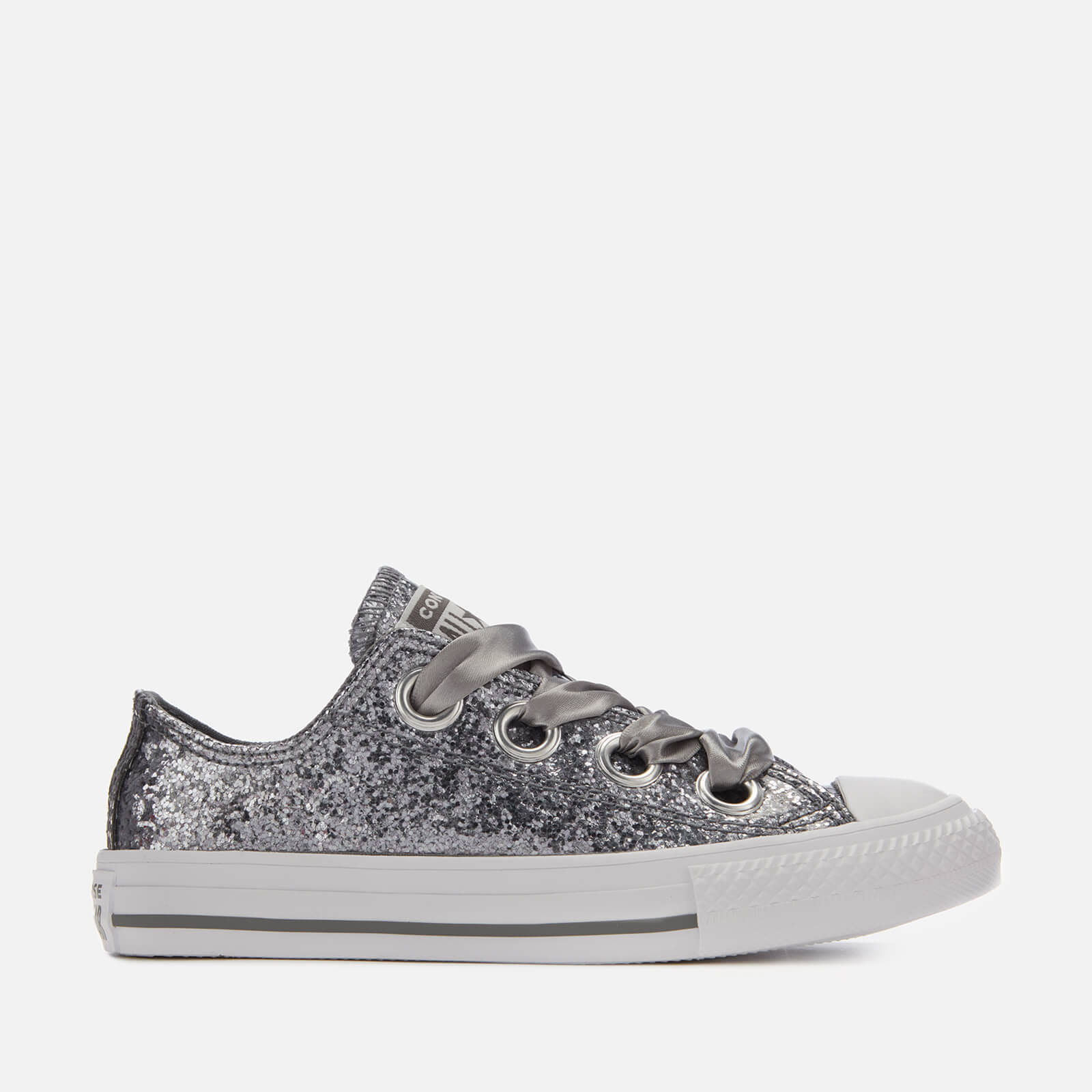 zilvergrijs Chuck Taylor Star Junior TrainersKleur All Big Ox Converse Eyelets Casual wmNnv80