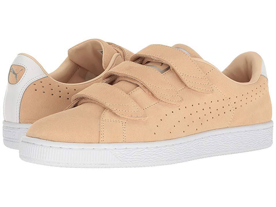Basket 11 Mens Strap 36256801 Puma Size Beige Classic Shoes 6q1awH