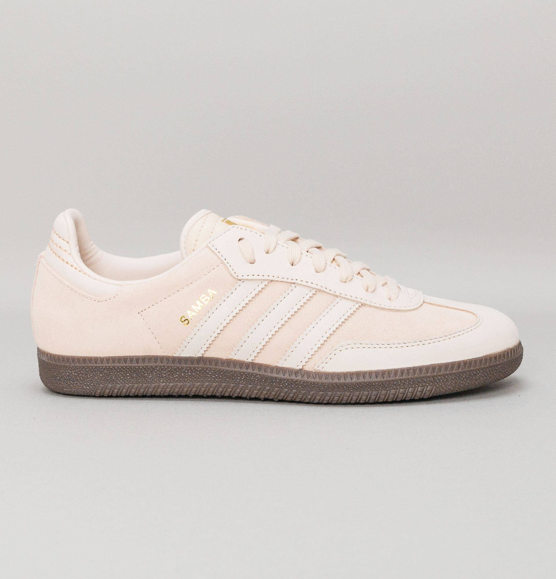 Samba FB Trainers Linen/Gold Metallic / 11