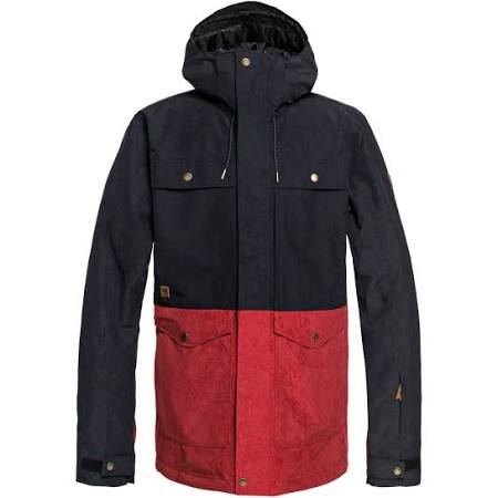 Men Snow Talla Xs Negro Horizon Jacket Quiksilver w5tqf