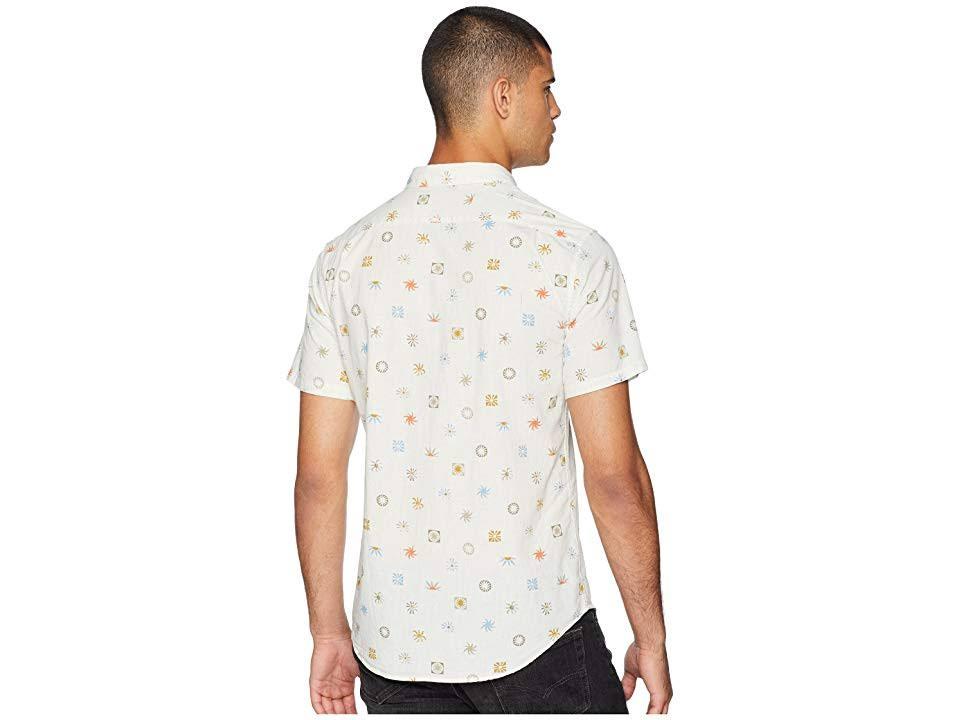 Tan Sonntags Billabong Beige Pocket Gedrucktes Herren S Stone Shirt XnPqgH