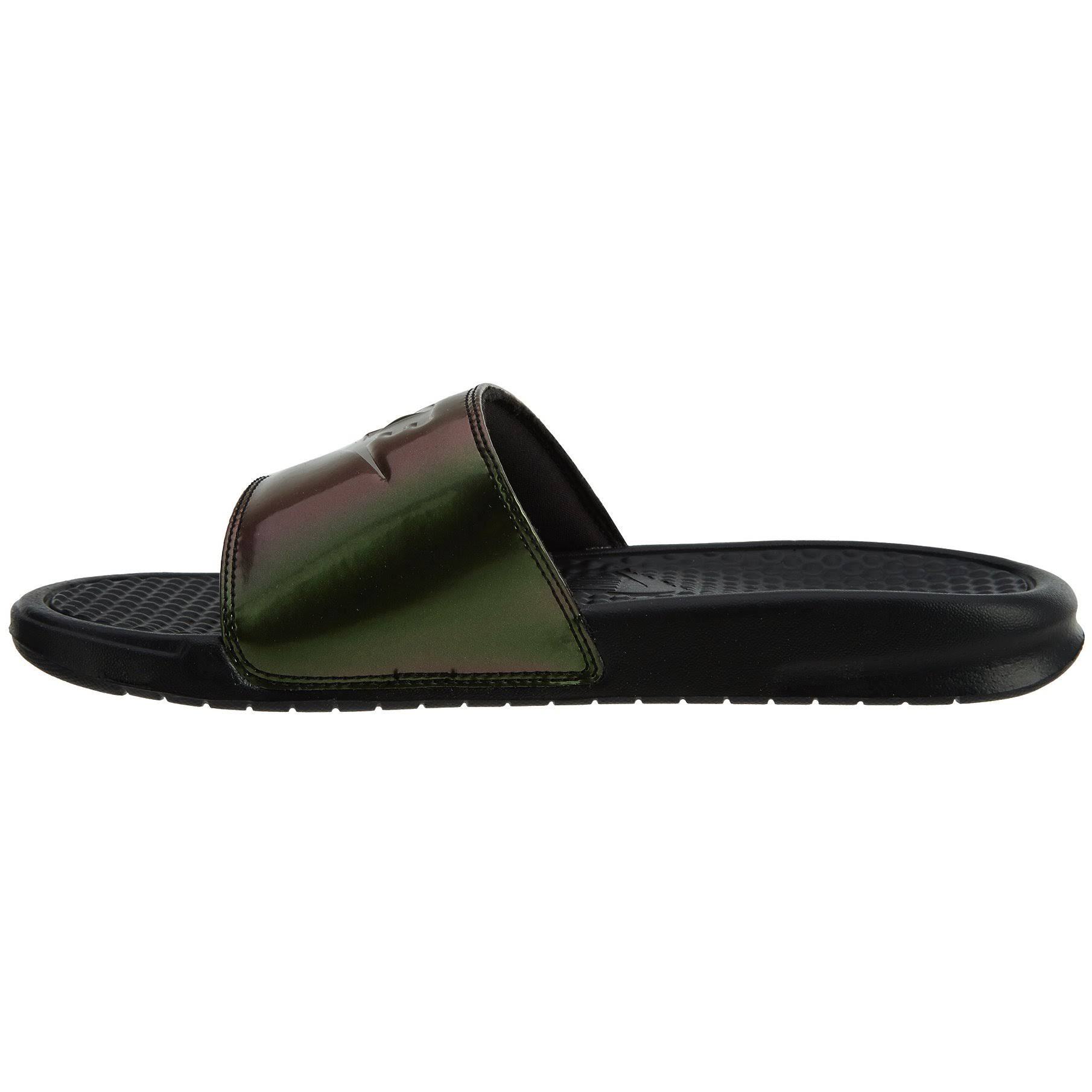 Sandals Slide 618919 Print Noir Benassi Femmes 012 Nike Jdi gPqwxT6R