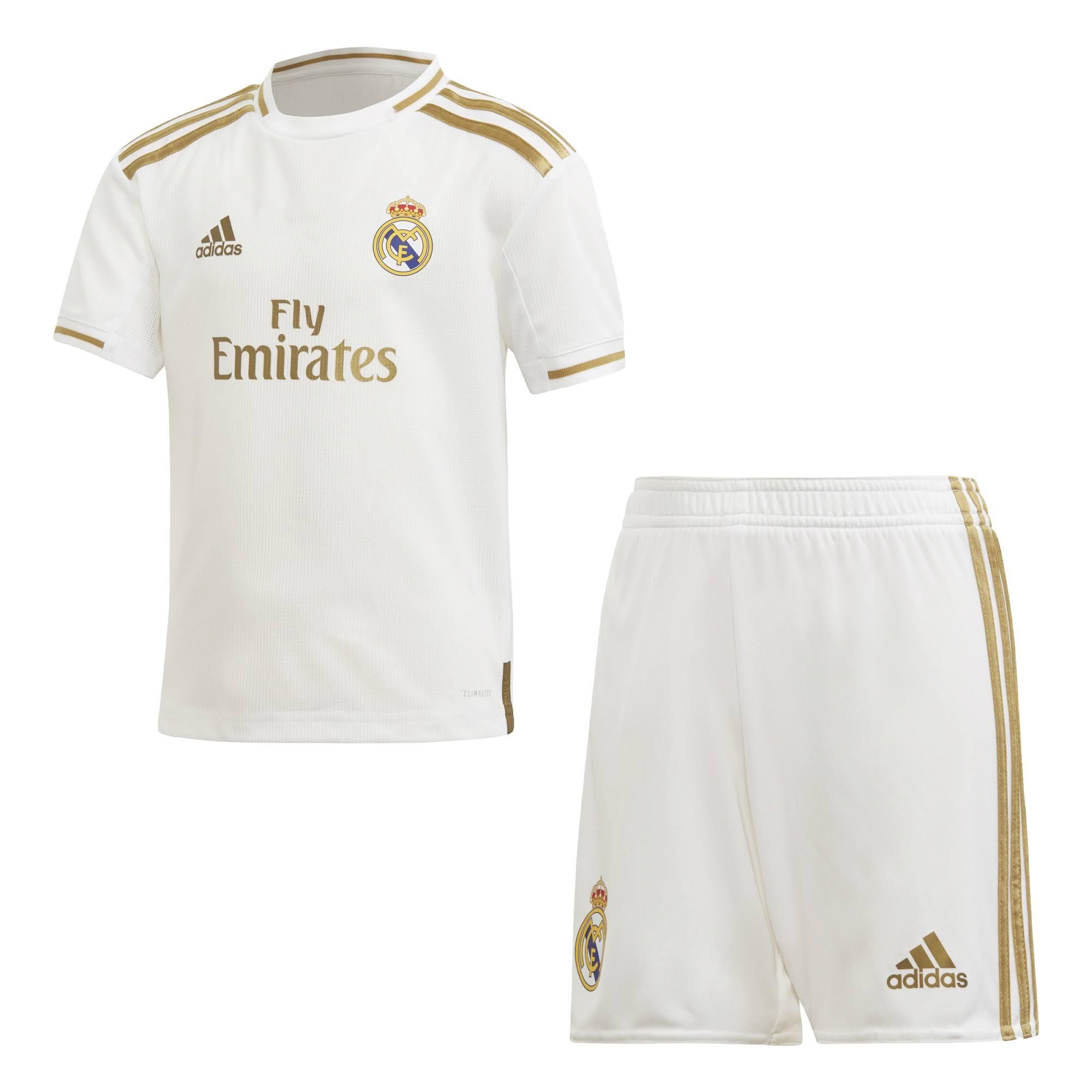 2019-2020 Real Madrid Adidas Home Mini Kit