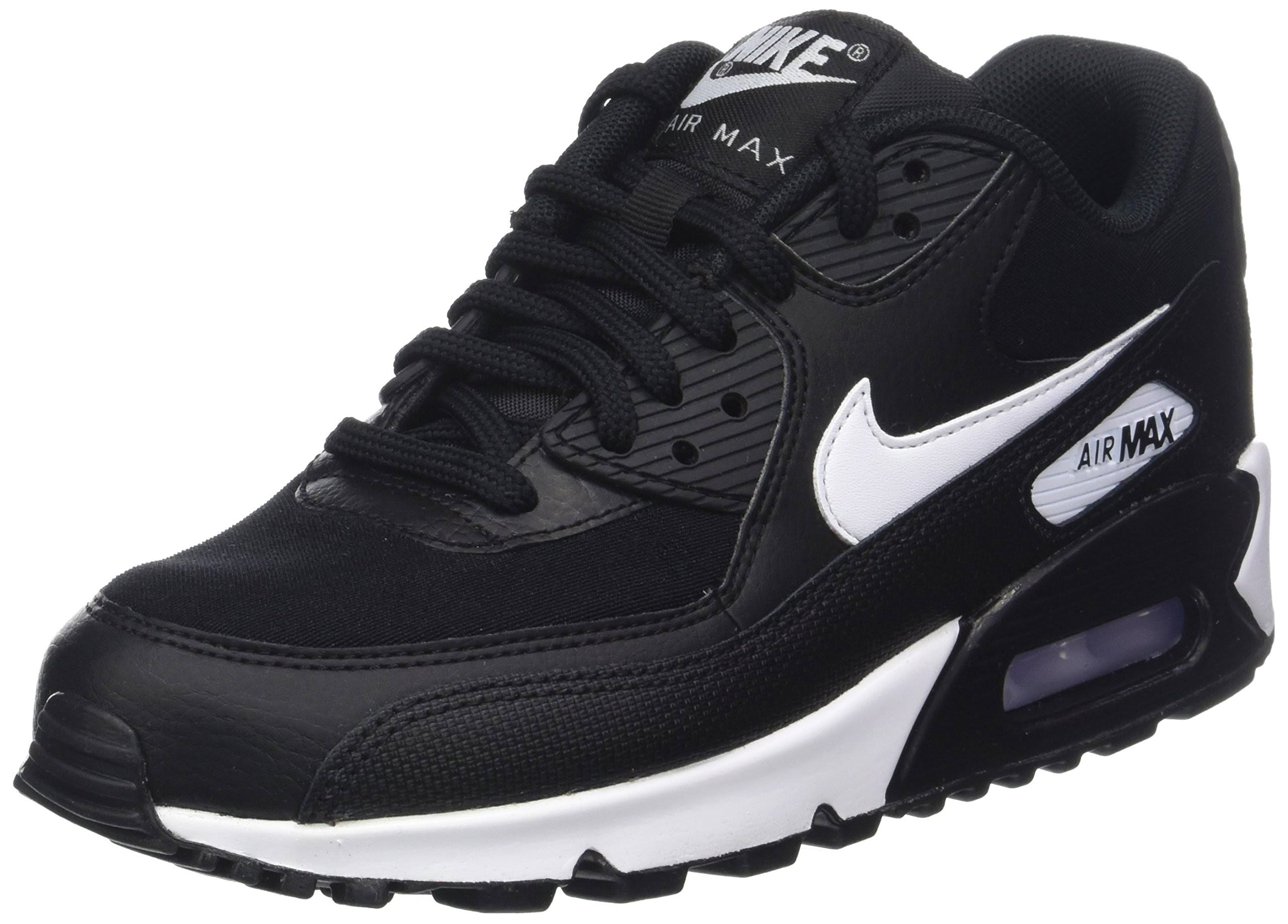 Nike white Air Women's Black 5 Eu Uk 42 047 Max Sneakers 90 7 top 047 Low black TrT8WgF15