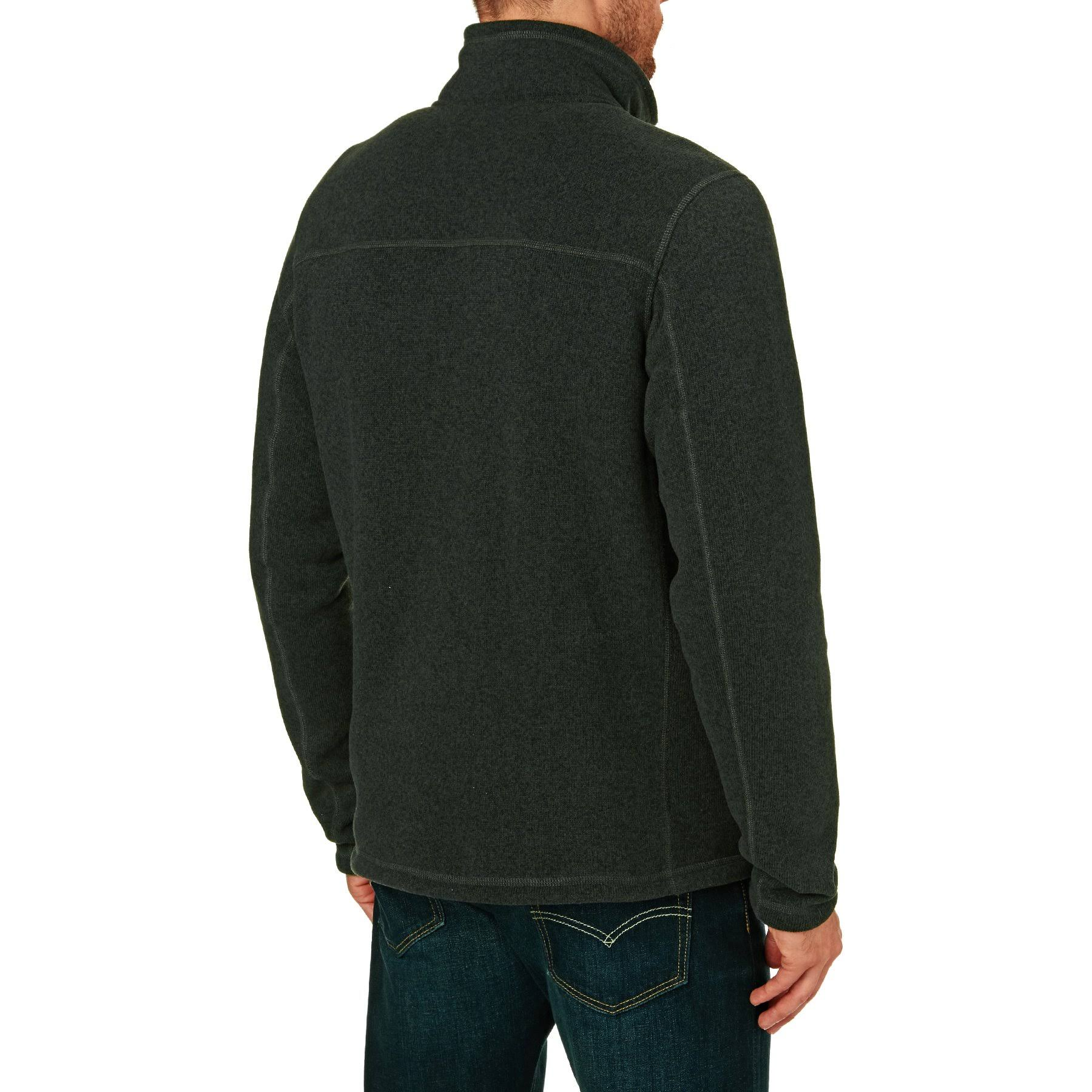 North The Heather Gris Fleece Zip Oscuro Gordon Hombre Lyons Face 14 rrv8dw
