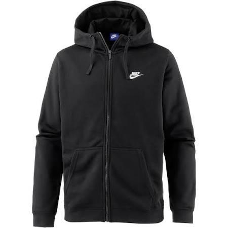 010 L weiß Fz M Ft Schwarz 804391 Hoodie Schwarz Club Nsw Nike n0zCPqwFw