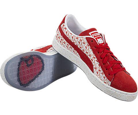 4 5 Suede Kitty Puma Red Classic X Hello Pqawv86
