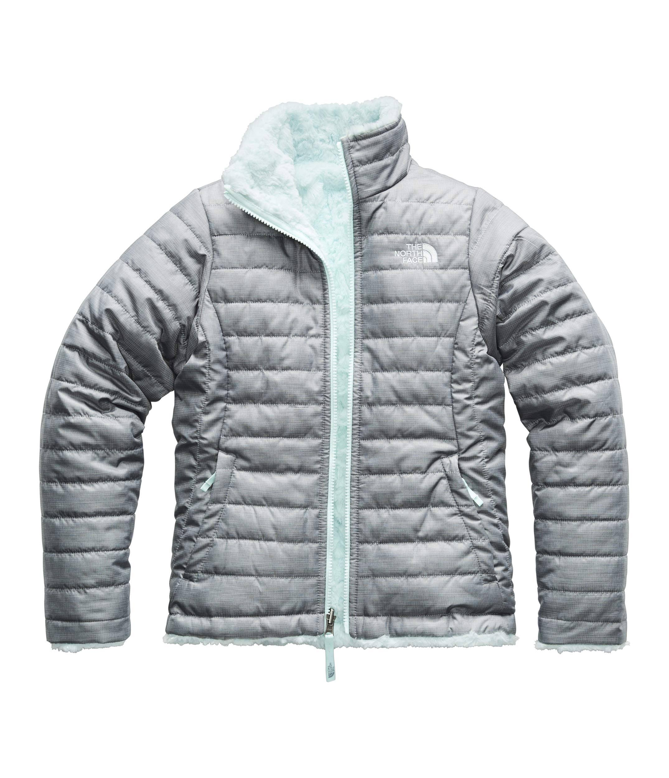 Reversible Girls Heather The Medio Gris Mossbud North Jacket Xs Tnf Face Swirl qfxpw14tEx