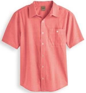 Camisa Naranja Woods De Hombre Para Tamaño Scandia 2xl Cambray rwtrdxRY
