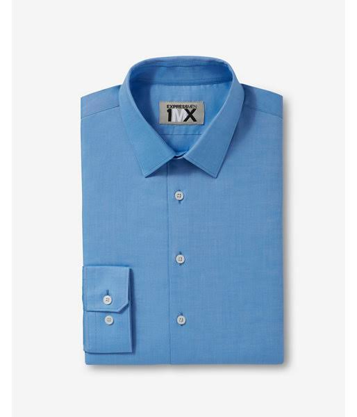 Tall Oxford Camisa amp; Big Easy Xxl Para Azul Hombre Extra 1mx Slim xX5X7Wn
