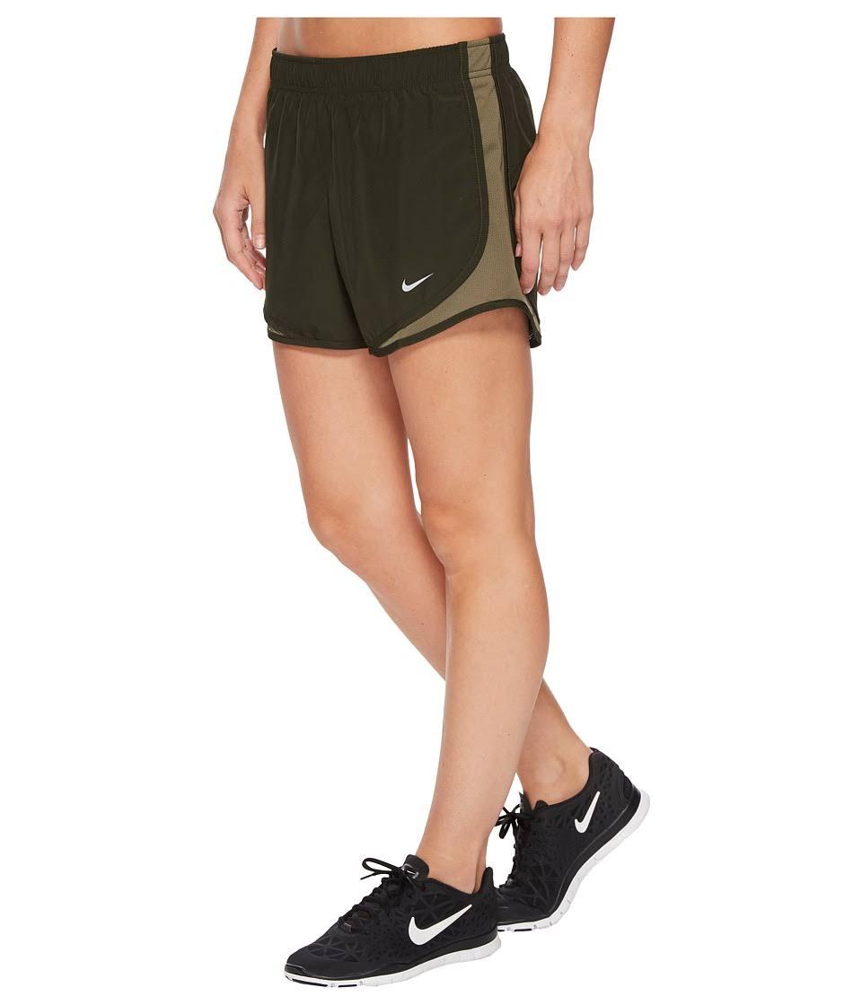 Para Correr Pantalones Nike Mujer Marrón Dry Tamaño Cortos M Tempo 75aqAP