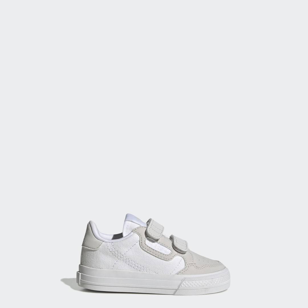 Adidas Continental Vulc Shoes - Kids - White