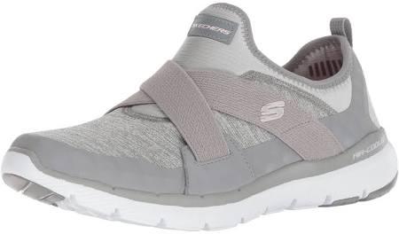 0 Gry Grau grey On Gry Damen Skechers Hour 5 Slip Flex finest Sneaker 37 Appeal Eu 3 1I1anvq