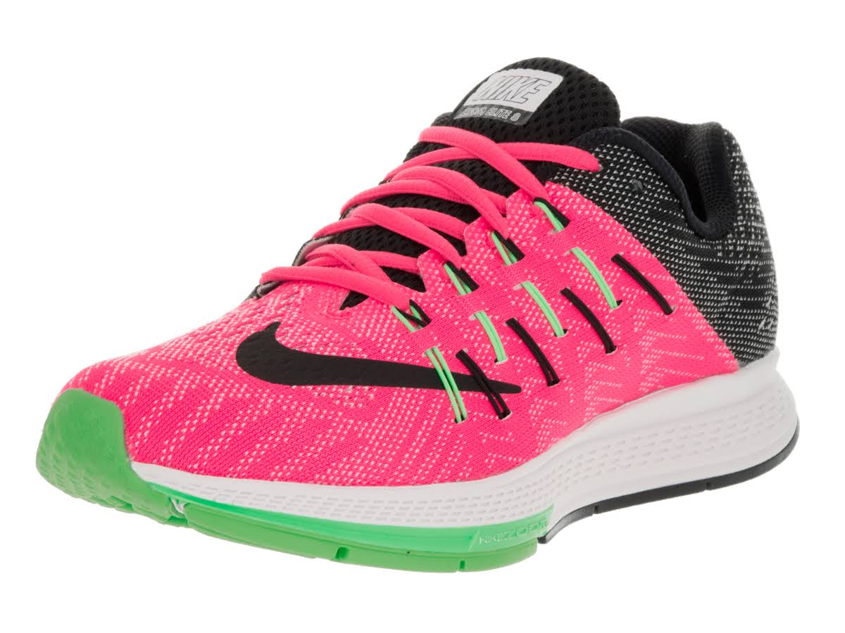 Para Negro Mujer Grn Running Pink Blanco Nike Zoom Elite Zapatillas Air 8 6 Elctrc Blast De gZHqz6z4