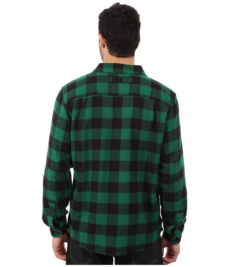 Franela 100 Hombres A Bend De Woolrich Oxbow Cuadros Camisa Para Algodón xT6wqgBc5