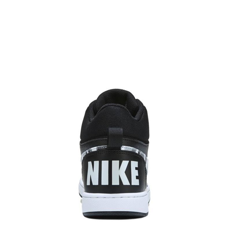 blanco 5 niño Court Grande Mid Negro Nike Puro Para 5 Multicolor gs Borough Zapatillas Platino Niños U0OZqw1