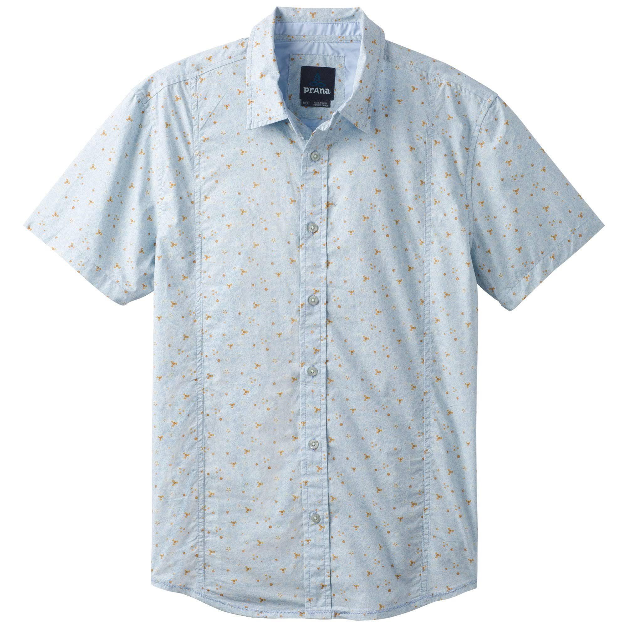 Xxl Radiante Azul Para Camisa Lukas Hombre Prana qYPx8wz