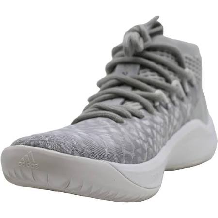 Adidas Mens Dame 4 Low Top Lace Up Basketball Shoes Grey 6.5 US / 6 UK