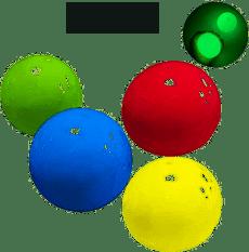 Sticky Squishy Globbles Speelgoedbal, 4 stuks Sticky Wall Balls stressverminderingsbal, anti-stress speelgoedballen voor kinderen en volwassenen