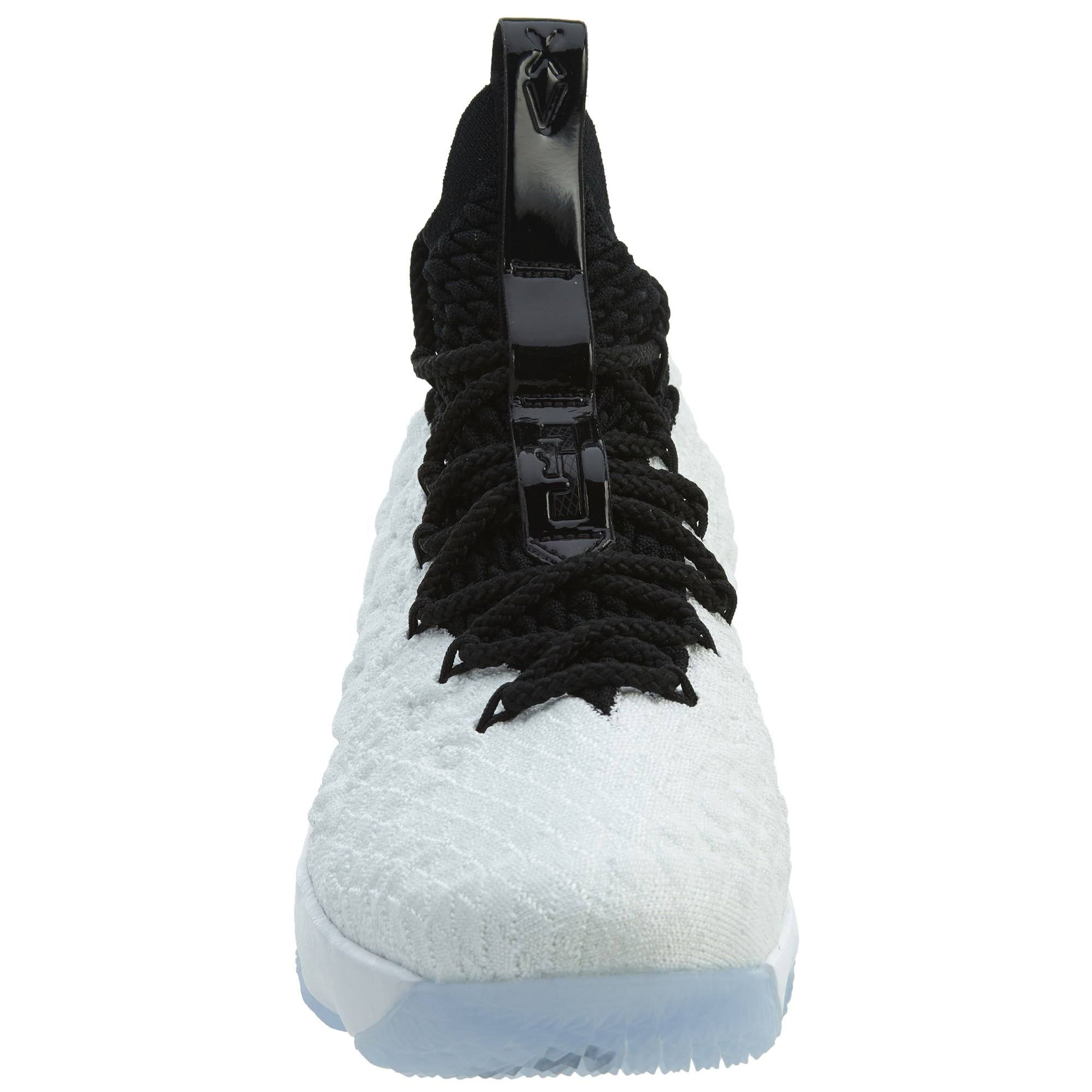 Grade school 15 Nike Lebron White CBredxo