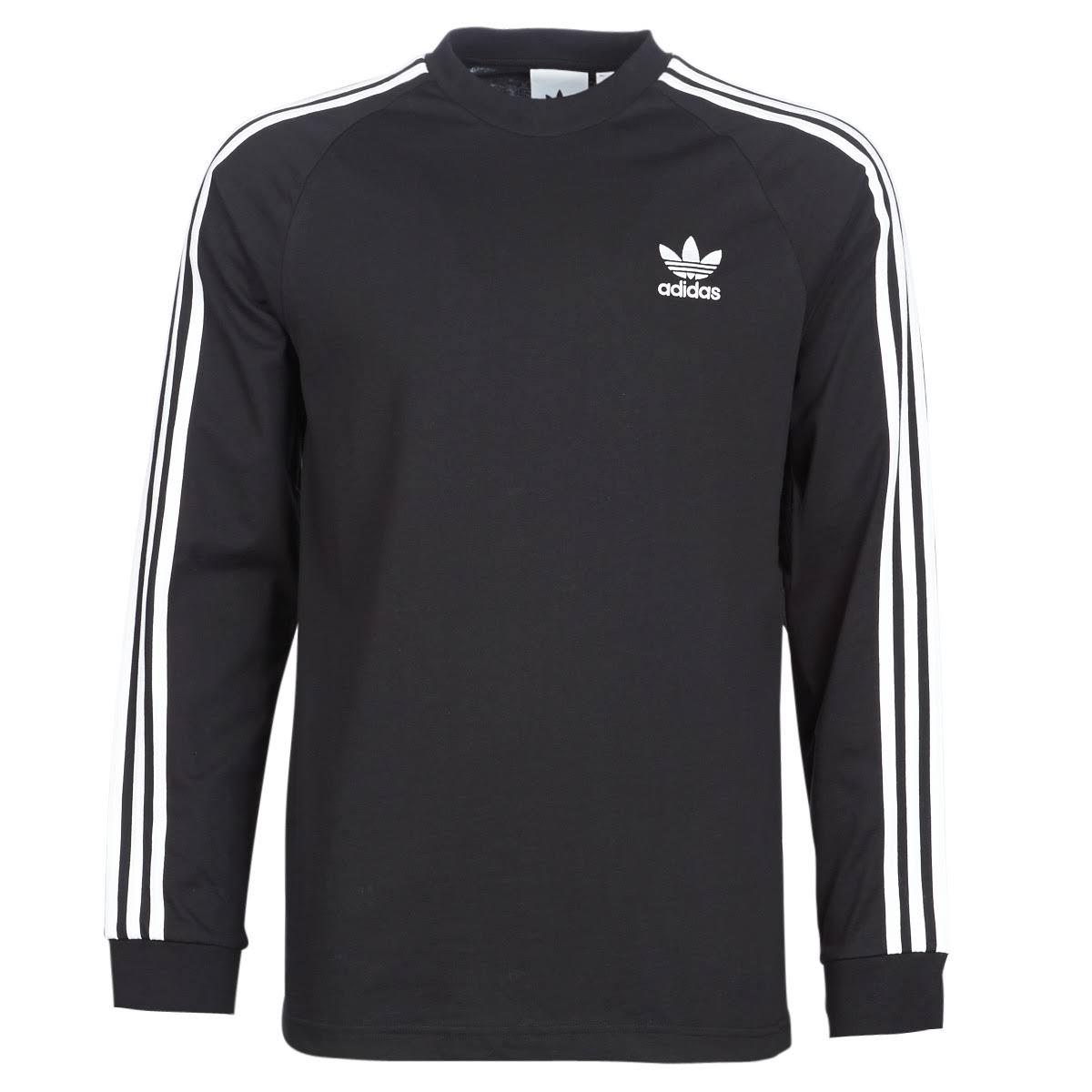 Svart strisce Svart strisce Adidas3 T T Ls Adidas3 Adidas3 strisce Ls 35RjA4Lcq