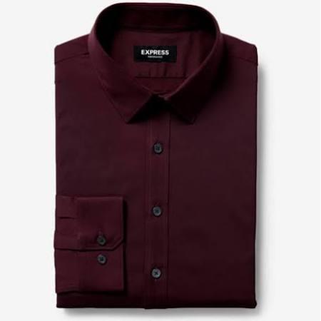 Camisa Vestir Arrugas Performance Resistente Para Púrpura Sujetador De Las Delgado A Extra Hombres nUwxYqS1