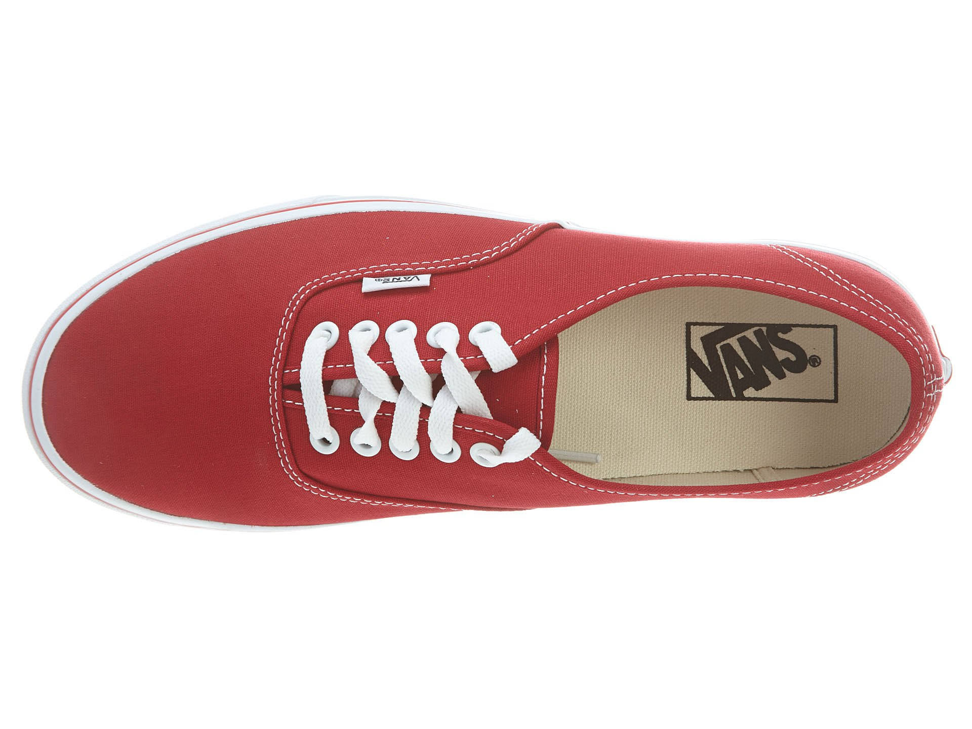 Purple Authentic Canvas Men 9 Red51 Sneakers Vans 5 Tamaño Red dtqTFt