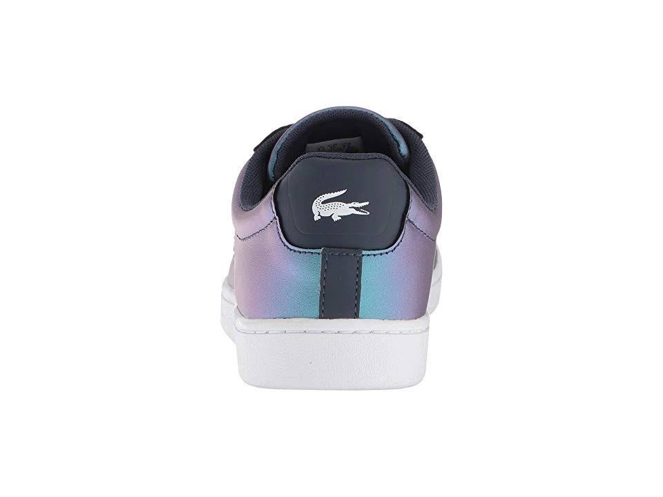 Zapatillas De Azul Lacoste Blanco Carnaby 5 Evo 7m Marino 318 Cuero F7wrdq7